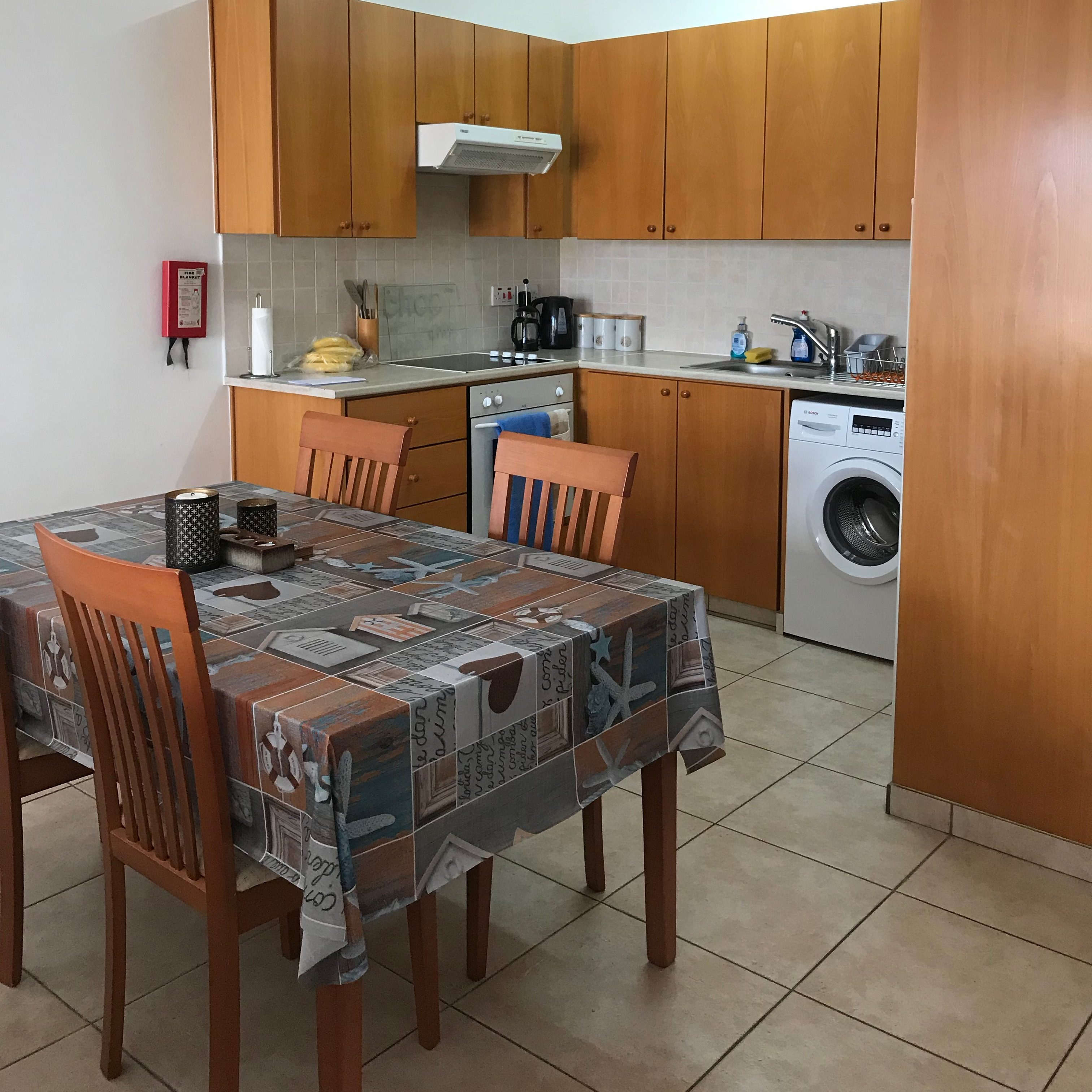 Cyprus apartment well equipped kitchen