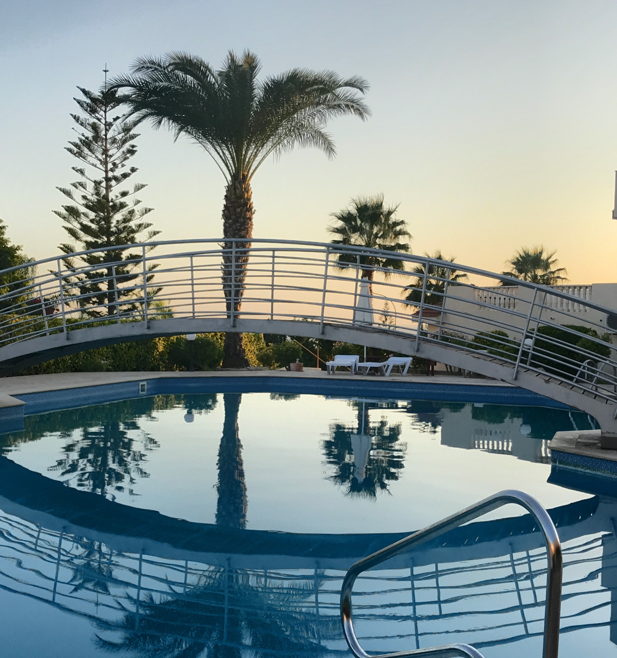 Cyprus apartment swimming pool
