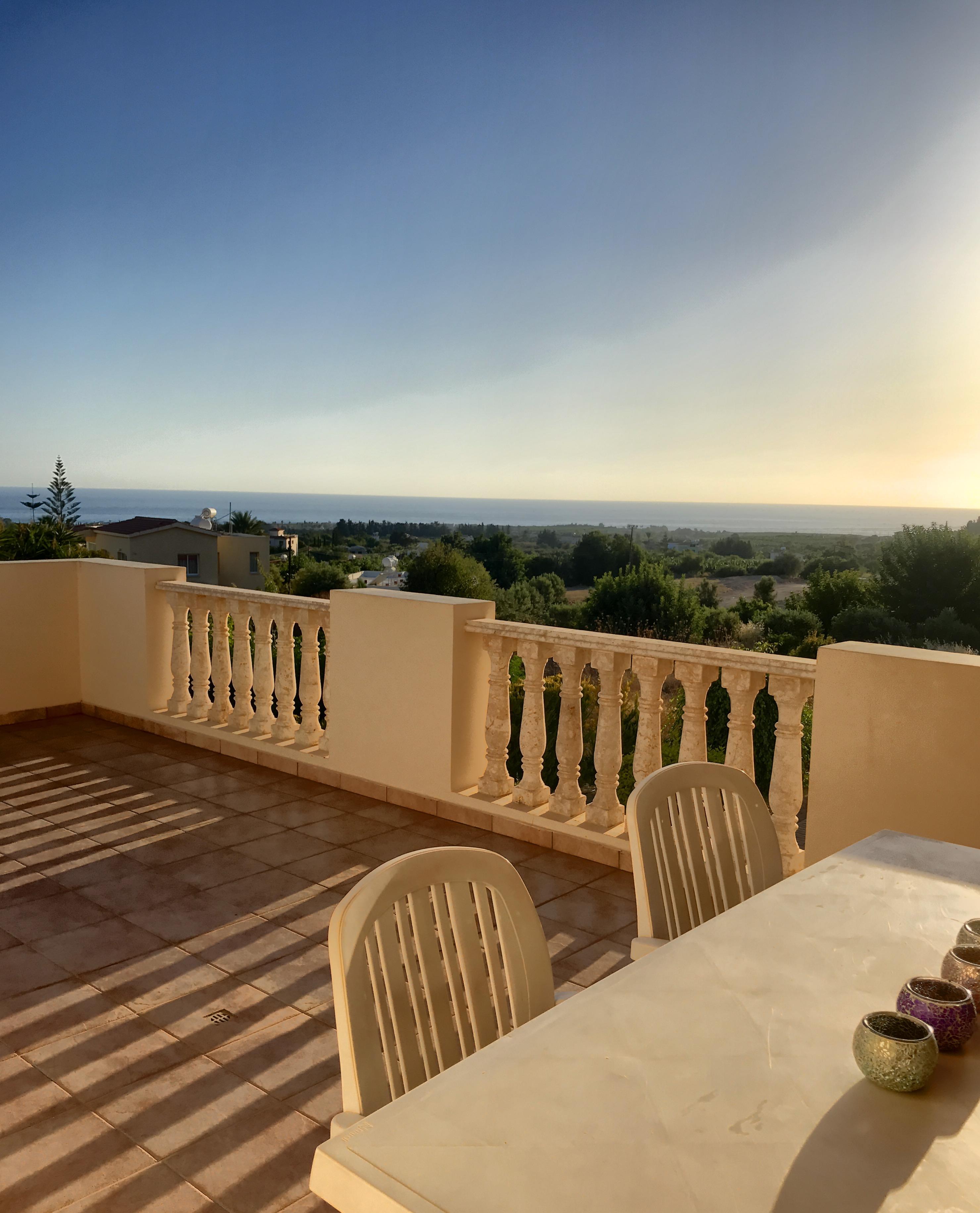 Cyprus apartment balcony